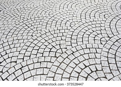 The abstract street pavement background