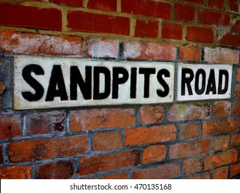 Abstract street scene Ham Richmond Surrey London England