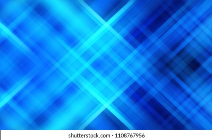 Abstract stripes azure background. Beautiful illustration crossing lines.