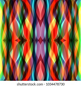 Abstract stripes colorful pattern background style.