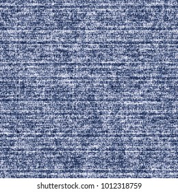 Abstract Subtle Striped Mottled Background In Washed Indigo Shades. Seamless Pattern.