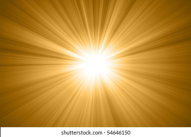abstract sun with rays