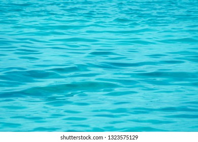 Abstract surface wave sea green turquoise texture background