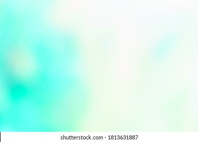 Abstract teal background. Blurred turquoise water background. Image for your graphic design, banner, summer or aqua poster