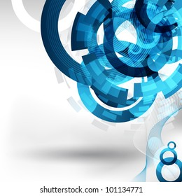 an abstract technology background for design