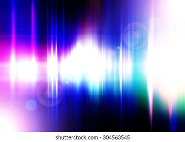 Abstract Technology Background,Futuristic Red And Blue Background