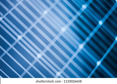 abstract technology blur of solar panel image