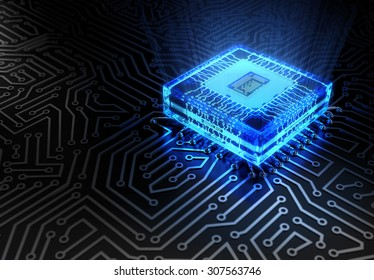 Abstract Technology Concept