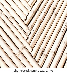abstract texture background of the bamboo wall and material decor