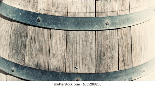 abstract texture background of the oak barrel concept of drink