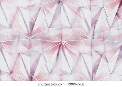 Abstract texture background of pyramid glass.