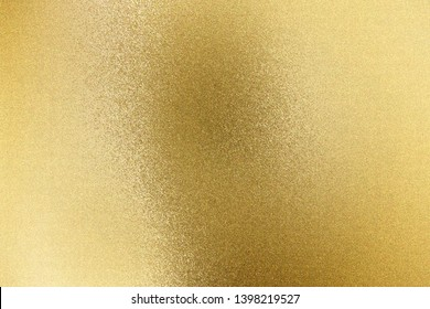 Abstract texture background, reflection rough gold wall