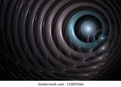 Abstract texture background with spheres and rings