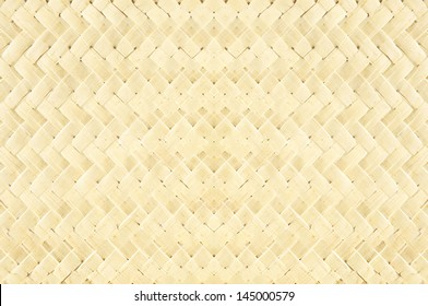 abstract of texture bamboo basket for background