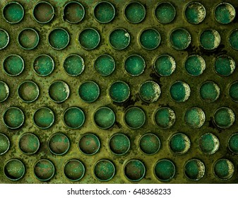 Abstract texture of military tank
