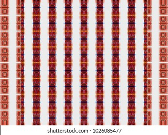 abstract texture | multicolored checkered pattern | retro plaid background | geometric tartan illustration for wallpaper tile fabric garment digital printing or fashion concept design