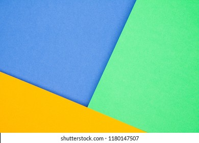 Abstract texture of multi-colored paper with shadow