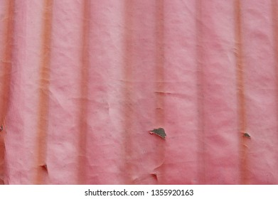 abstract texture on red plastic tent