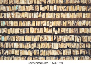 Abstract texture stack of wood logs can use for background