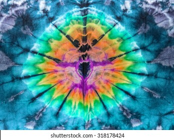 Abstract texture tie dye fabric for a background.