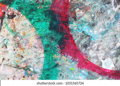 Abstract textured background White Red Green