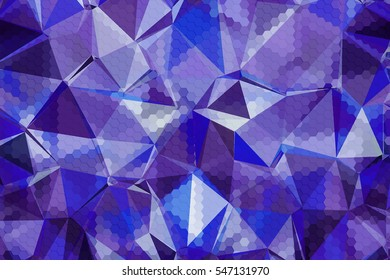 Abstract textured low poly cool background.