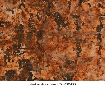 Abstract textured rust metal surface background