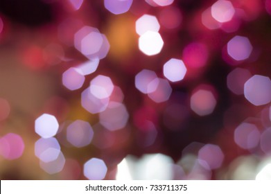 Abstract textures pattern design sweet colorful octagonal background of ornamental lights