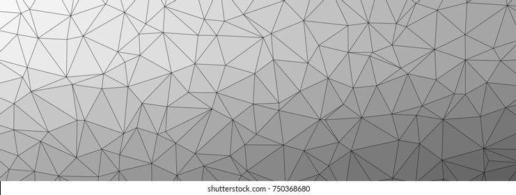 Abstract triangular low poly style illustration graphic background.Geometric Pattern.Broken geometric shapes. Abstract black and white texture of geometric shapes. Beautiful geometric pattern design