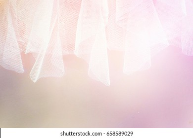abstract tulle background
