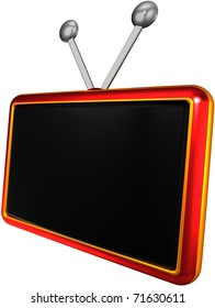 abstract tv screen
