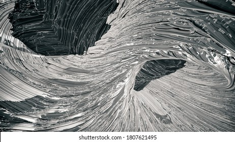 An abstract twisted and jagged landscape background.