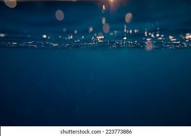 Abstract underwater background