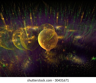 Abstract varicolored background