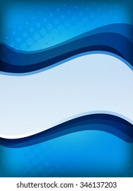 abstract vertical blue background with space for text. JPG version