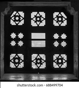 AN abstract view of a Jharokha (Window) in Jaisalmer Fort