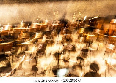 Abstract View Of An Orchestra