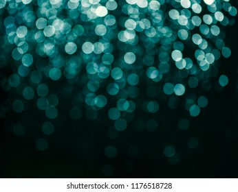Abstract vintage bokeh water background