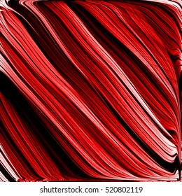 Abstract vintage colorful red line illustration background.