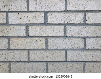 Abstract vintage grayish brick wall background texture with space for text, Georgia USA.