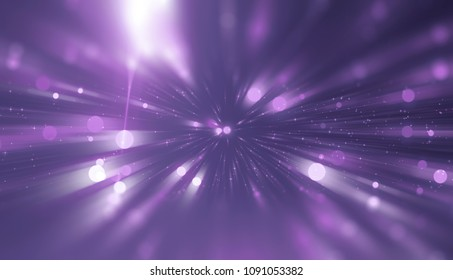 Abstract violet background. Explosion star with gloss and lines. Illustration beautiful.