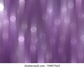 Abstract violet bokeh circles. Beautiful background illustration with particles.