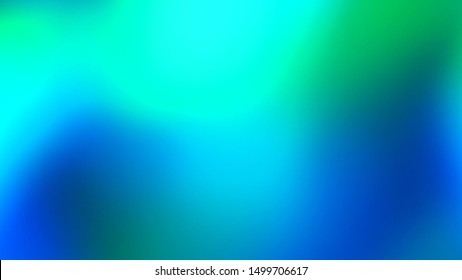 Abstract vivid green and blue colors background