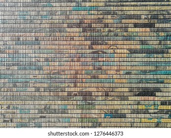 Abstract wall covering pattern / Interior background and texture