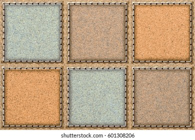 abstract wall tile design background for building,