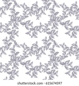 Abstract wallpaper with floral motifs.  Seamless pattern. Wallpaper. Use printed materials, signs, posters, postcards, packaging.