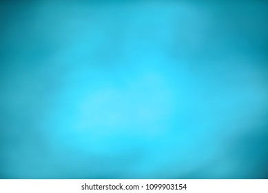 Abstract water blue blurred background