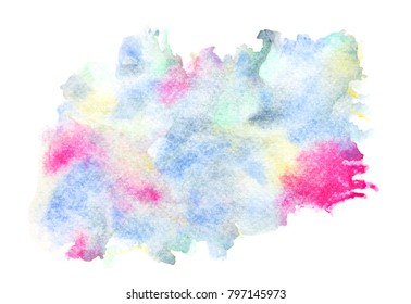 abstract water colorful background.art painted image