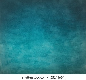 Abstract watercolor art hand paint background