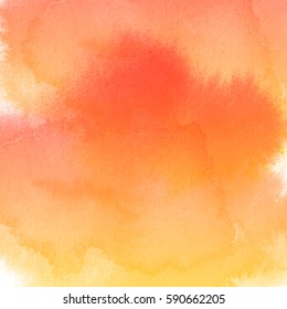 Abstract watercolor art hand paint on white background,Watercolor background.